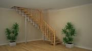 Лестница межэтажная для дома,  офиса,  дачи