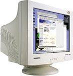 МОНИТОР17'' SAMSUNG SyncMaster 755DFX б.у.